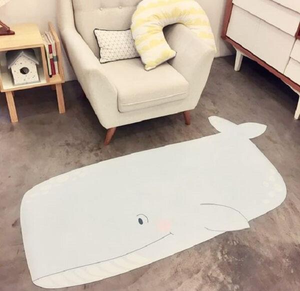 Modelos criativos de tapete emborrachado encantam a decoração do ambiente