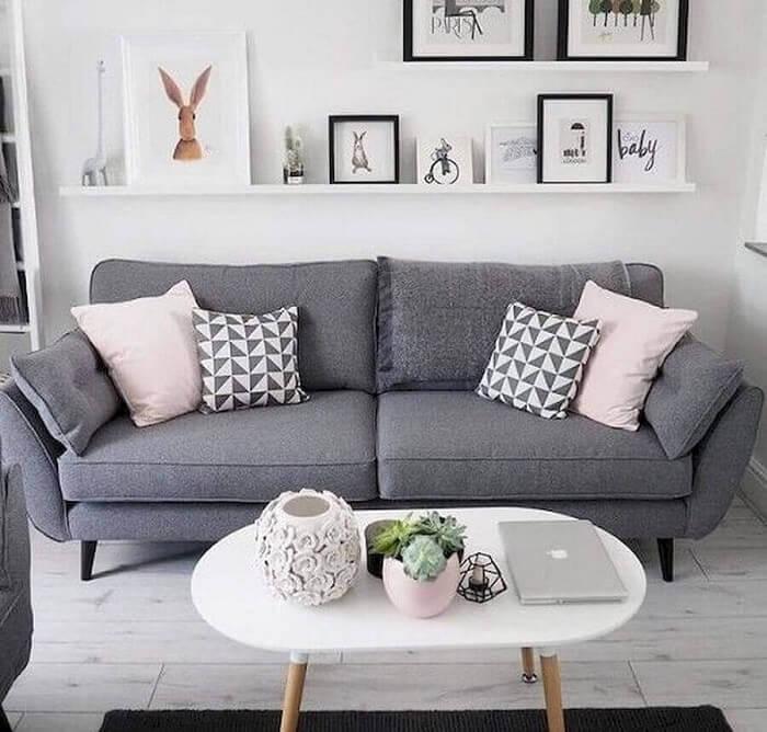 O tecido para sofá na cor cinza é um dos mais vendidos no mercado