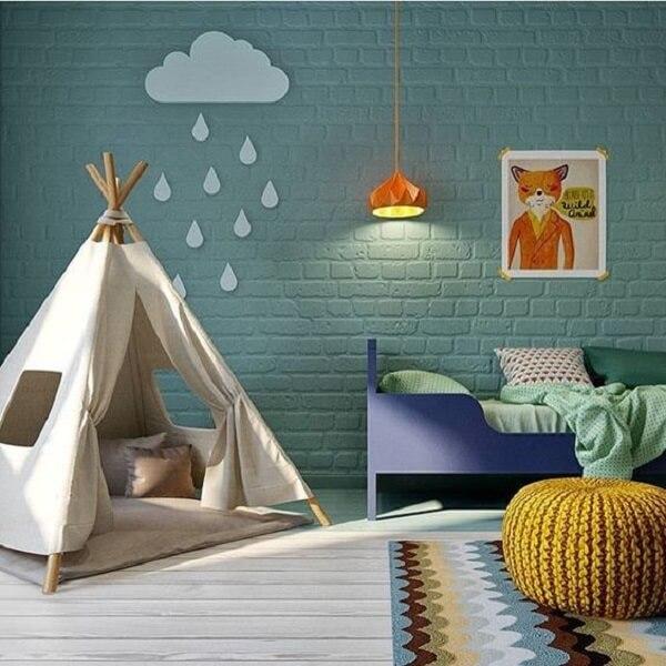 Por que decorar o quarto das crianças com cabaninhas?