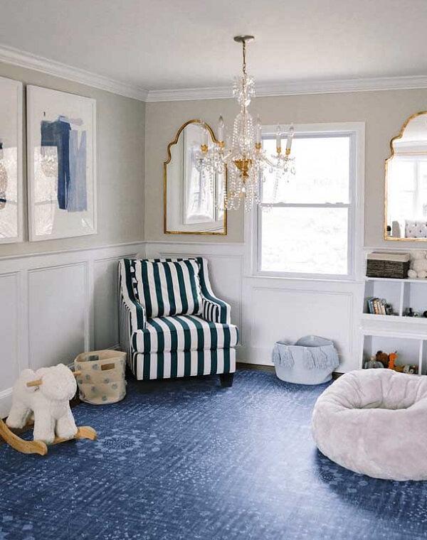 Tapete emborrachado no quarto infantil traz conforto térmico e segurança para as crianças