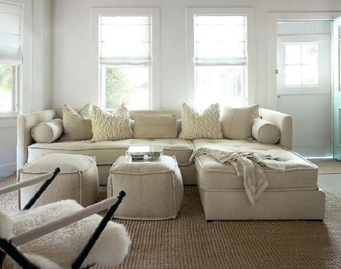 Tecido para sofá de linho se encaixa perfeitamente em ambiente rústico