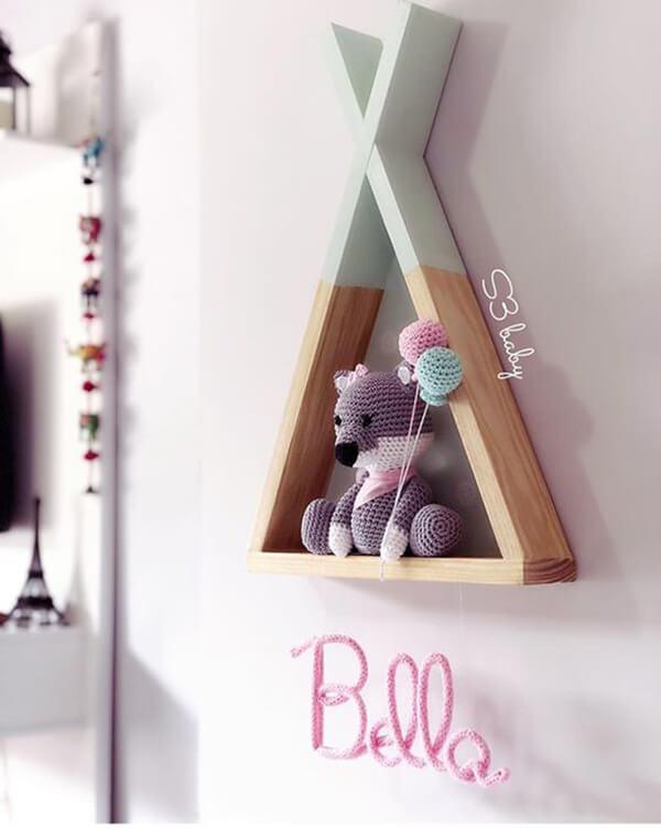Enfeite de parede delicado para quarto infantil