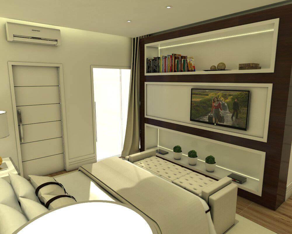 ar condicionado split - quarto pequeno com ar condicionado