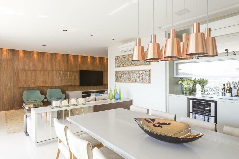 ar condicionado split - sala de jantar com ar condicionado