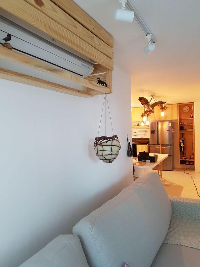ar condicionado split - suporte para ar condicionado com caixote