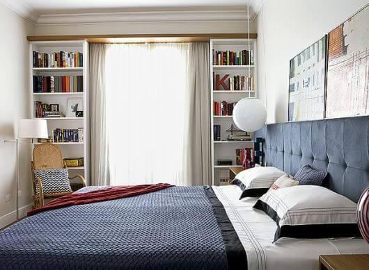 cortina para janela de quarto