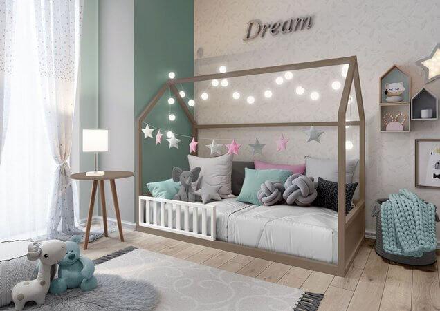 A cama casinha montessoriana é uma das melhores formas de garantir o desenvolvimento de seus filhos