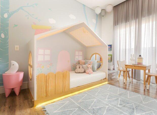 cama casinha infantil