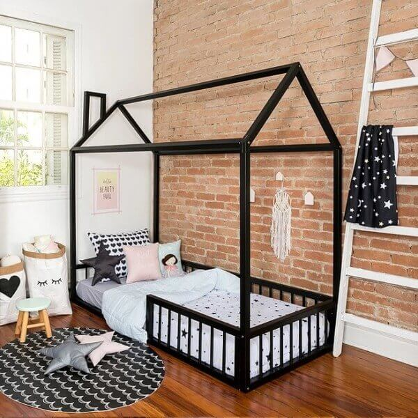 camas com formato de casinha