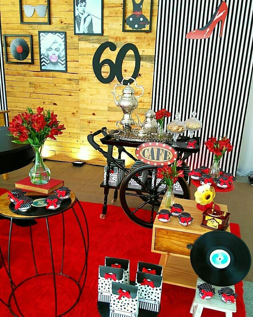 Cantinho do café para decoração anos 60