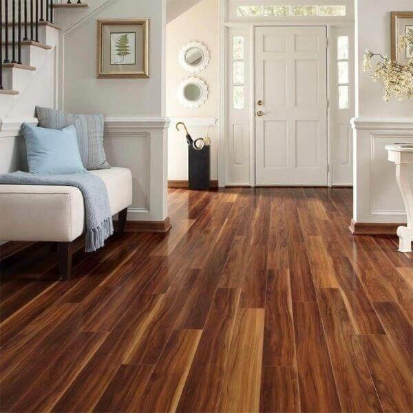 Carpete de madeira ipê