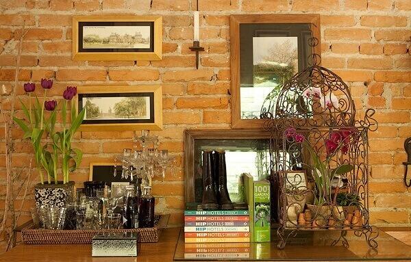 Traga um toque de romantismo para a decoração do ambiente