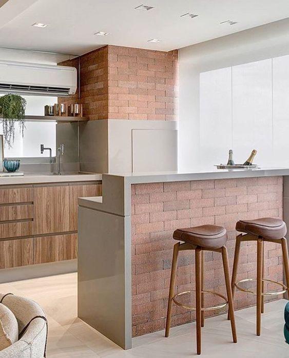 cor fendi - bancada de cozinha fendi
