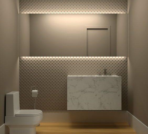 cor fendi - banheiro simples fendi - JOMO Decor