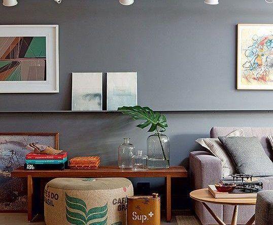 cor fendi - casa com parede fendi