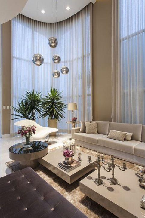 cor fendi - sala clássica com paredes e móveis fendi