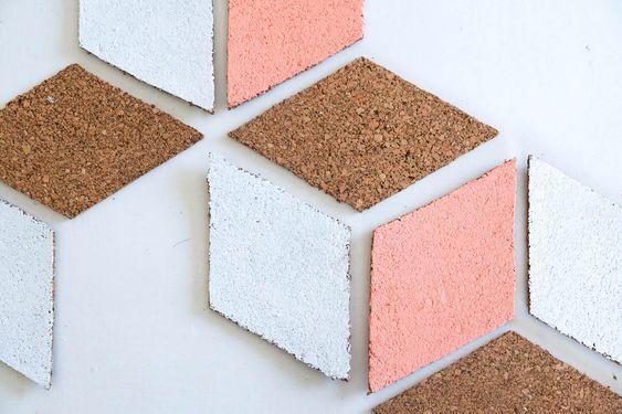 cortiça - peças de cortiça