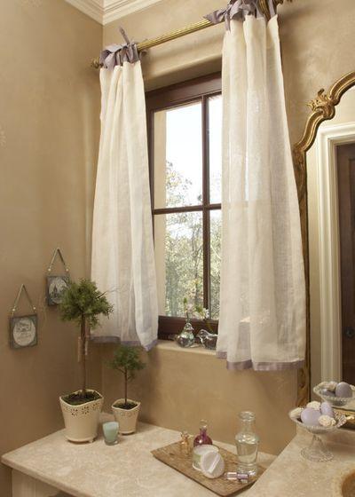 cortina de renda - cortina de banheiro de renda