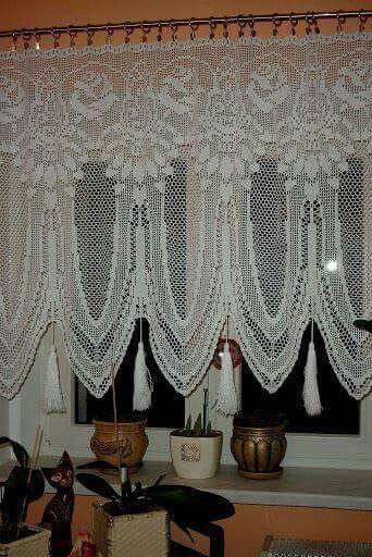 cortina de renda - cortina de renda com detalhes