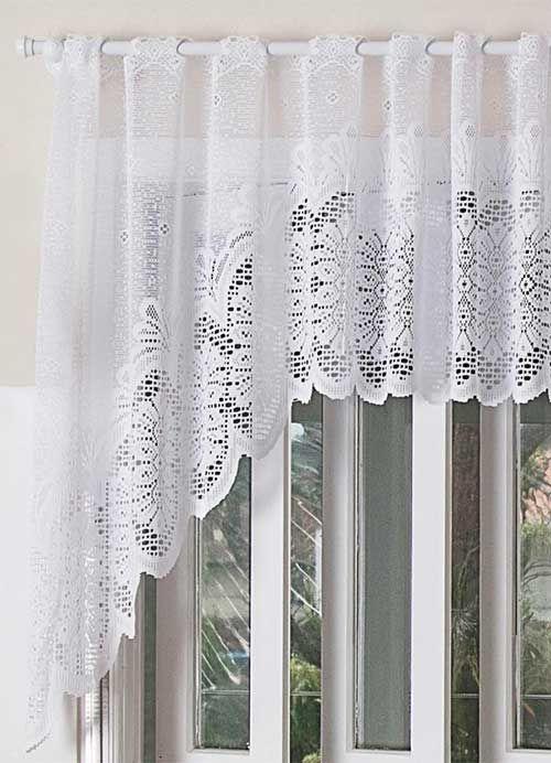 cortina de renda - detalhe de cortina de renda