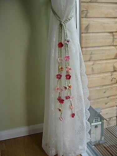 cortina de renda - detalhe de cortina de renda branca