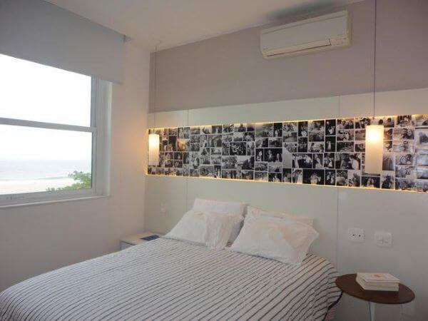Janela para quarto com janela de alumínio