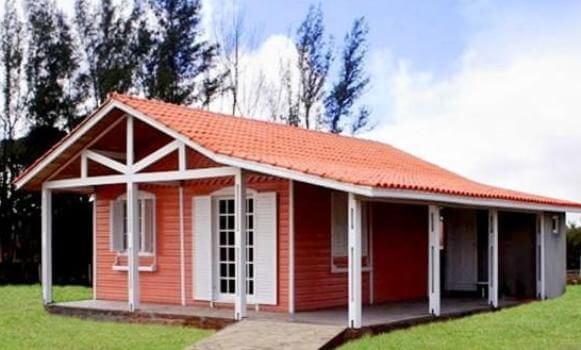 decoração de casas com telhado colonial