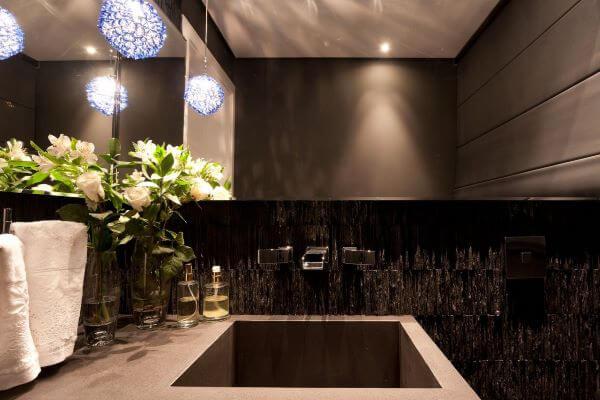 decoração do lavabo fica moderna
