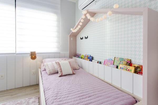 quarto de menina com cama casinha