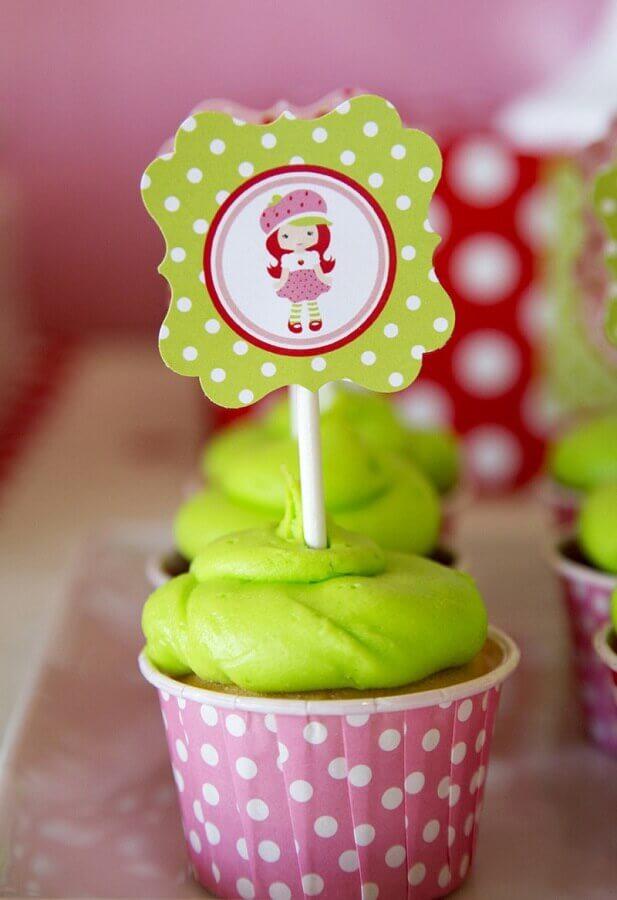 detalhes para decoração festa moranguinho - tema de aniversário de menina Foto Casa e Festa