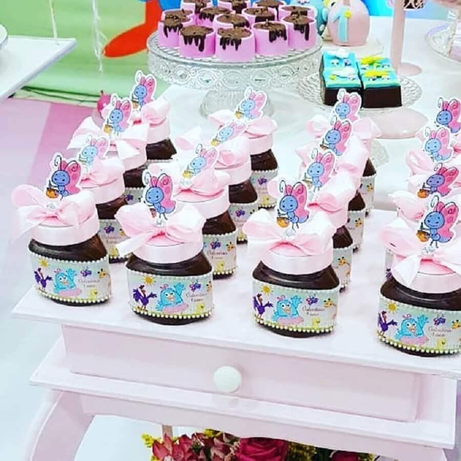 ideia de lembrancinha para festa da galinha pintadinha rosa Foto Arte e Papel Festas