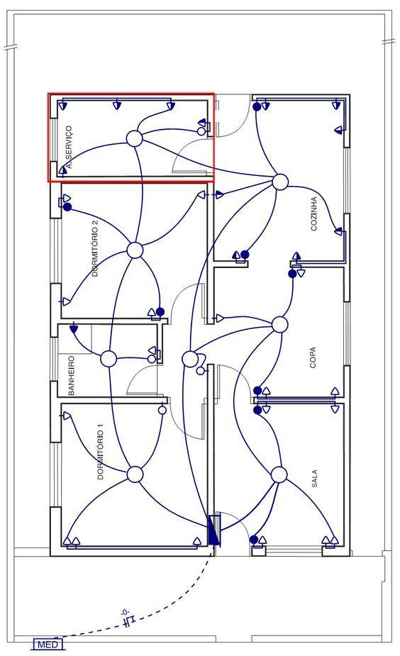 instalação elétrica - projeto de instalação elétrica