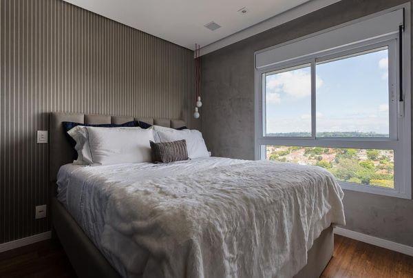 janela para quarto de casal com vidro