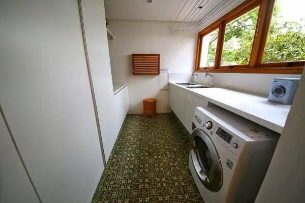 Lavadora de roupas para lavandeira