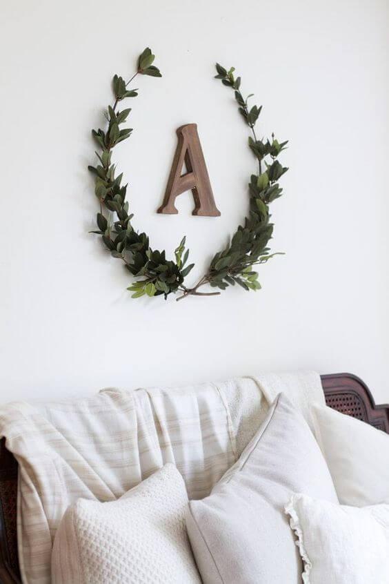 moldes de letras para combinar com a decoração da sua sala