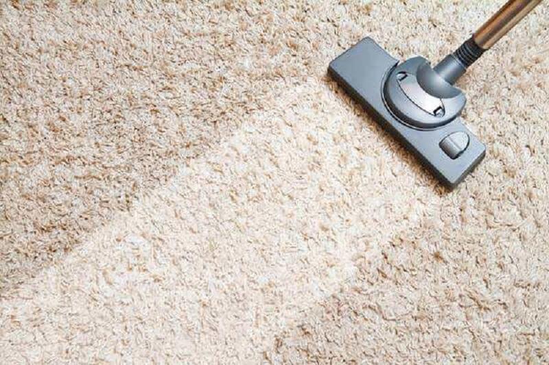 limpando tapete com aspirador Foto Bau das Dicas