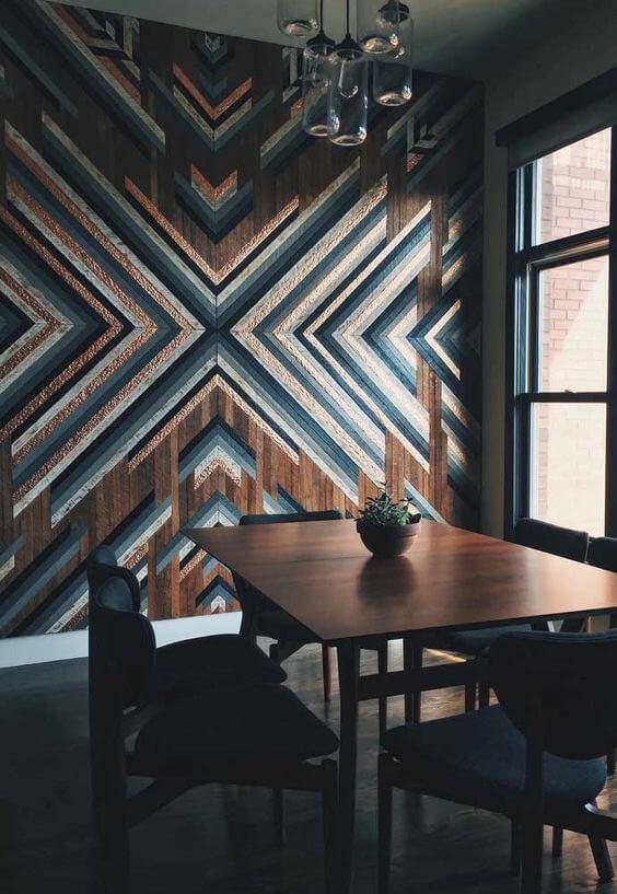 marchetaria - parede de madeira em marchetaria