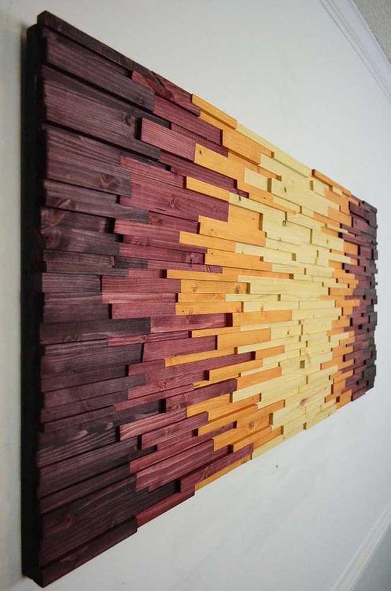 marchetaria - quadro colorido de marchetaria