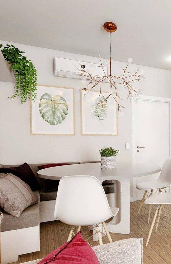 mesa para sala de jantar com canto alemão Foto Apartment Therapy