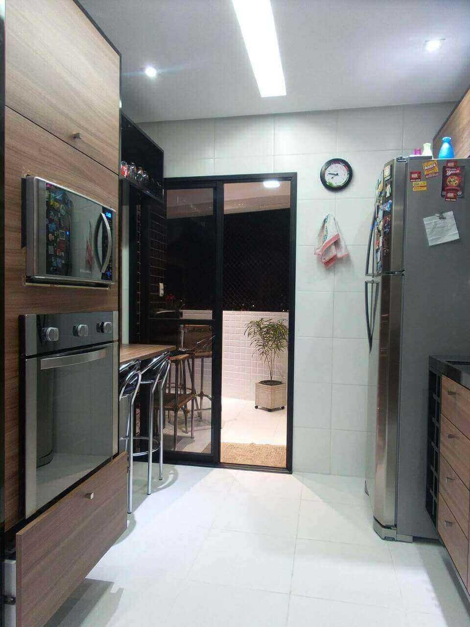 microondas espelhado - nicho embutido para forno elétrico e microondas