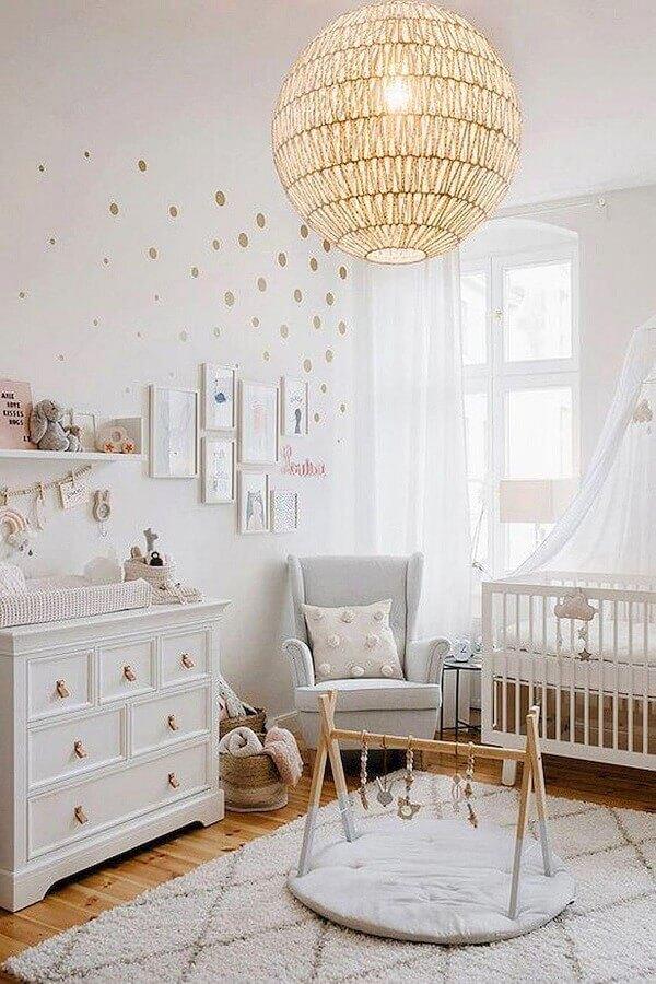 modelo diferente de pendente para quarto de bebê Foto Anna Maria Parisi