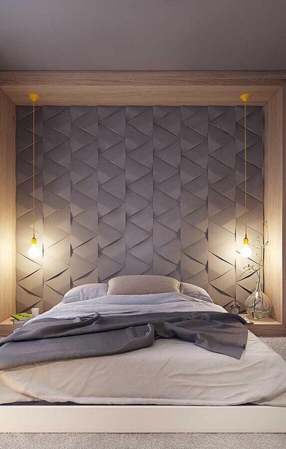 modelo minimalista de pendente para quarto Foto Mauricio Gebara Arquitetura