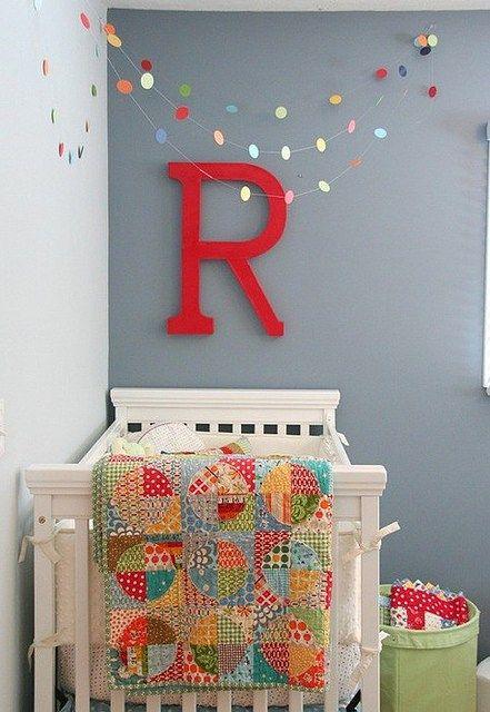 Decore o quarto infantil com os moldes de letras do alfabeto