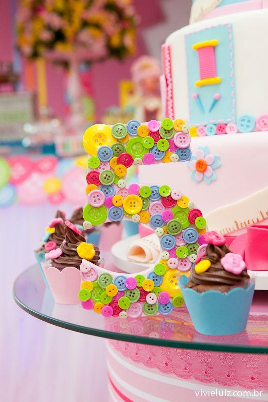 Moldes de letras para decoração de festa