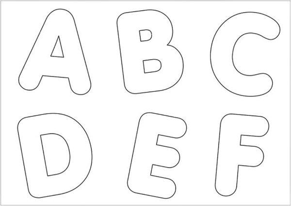 Moldes De Letras 66 Inspiracoes Lindas Para Usar Na Sua Decoracao