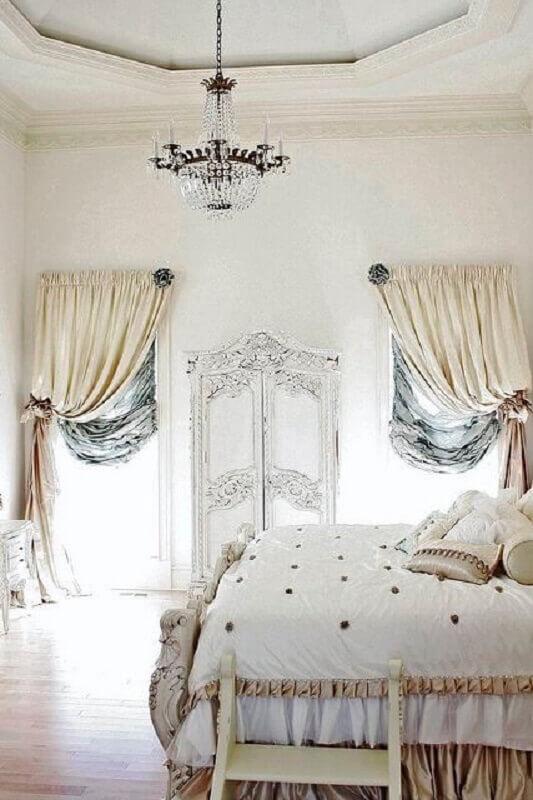 pendente de cristal para quarto com estilo provençal Foto DecOMG