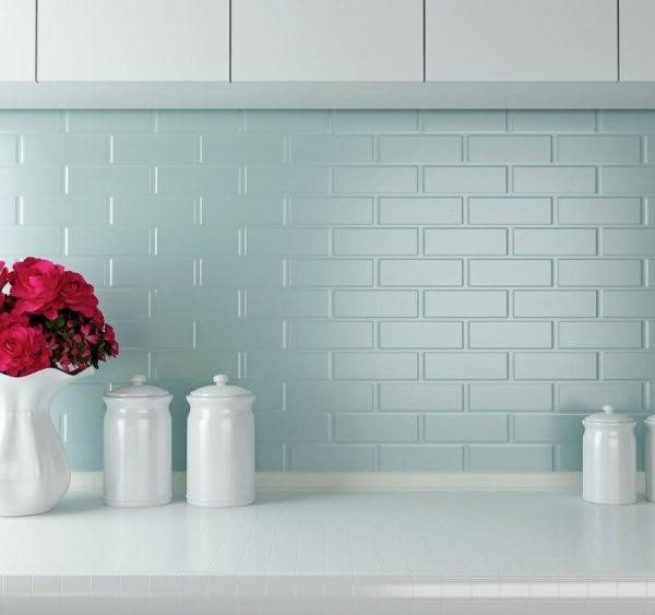 pintar a cozinha com tinta para azulejo