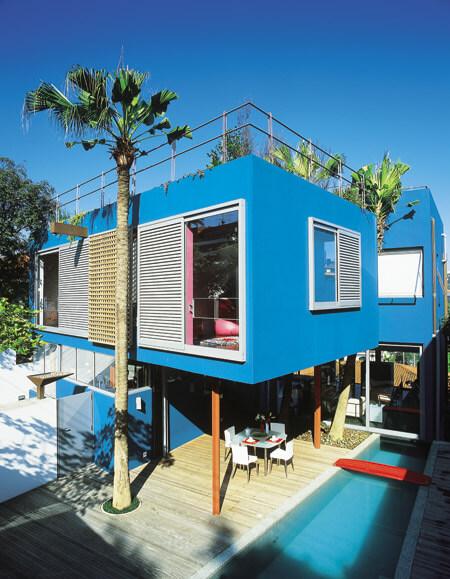 pinturas de casas modernas