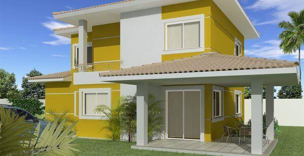cores para pinturas de casas
