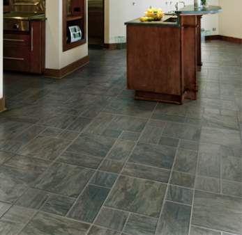 piso de ardósia